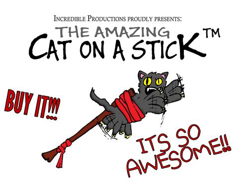on a stick 6 uses for a cat on a stick team pwnicorn
