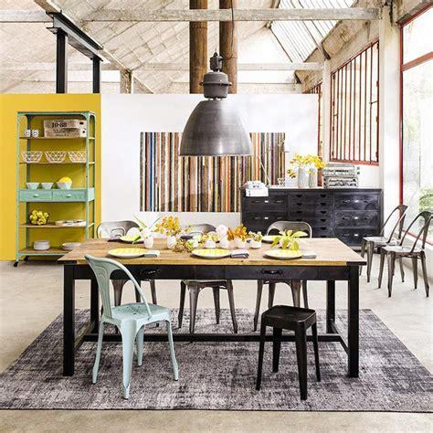 table industrielle maison du monde tavolo arredamento industriale stile industriale