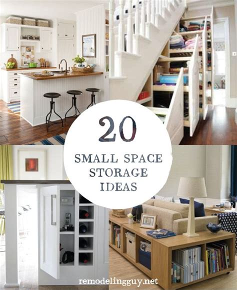 tiny house storage solution tiny house pinterest 20 small space storage ideas remodelingguy net diy