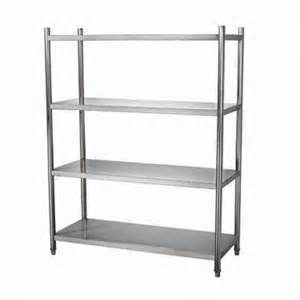 stainless steel 4 layer shelves adjustable global