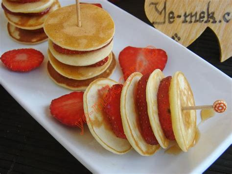 pankek pankek tarifi tatli pankek pankek tarifi pankek pankek pankek mini pancakes with strawberries recipe recipes from