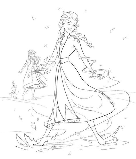 frozen  sketch art