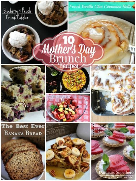 s day breakfast recipes 10 s day brunch recipes domestic