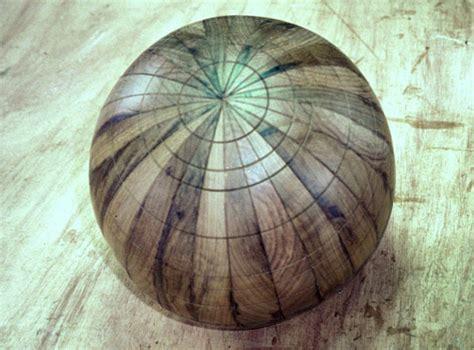 making  wooden globe