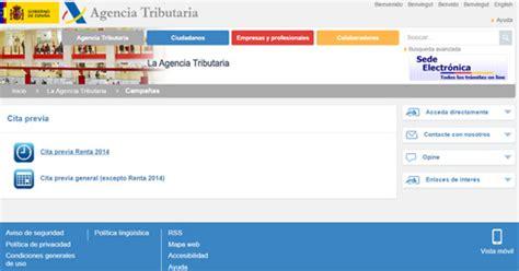 cita previa aeat 2015 agencia tributaria es cita previa 2015