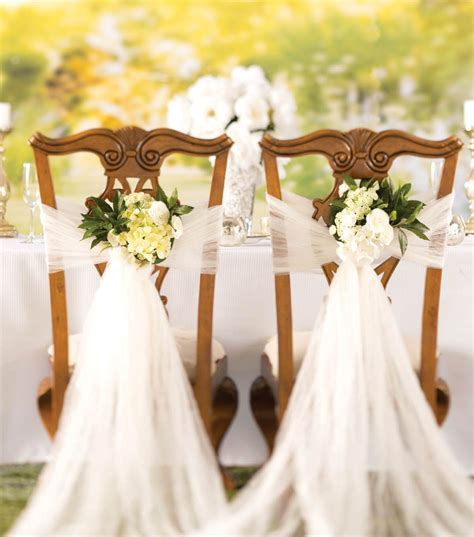 How To Make A Crushed Tulle Chair Décor   DIY Wedding