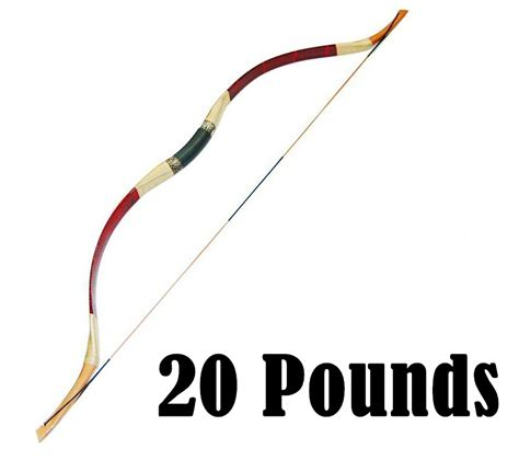 Handcrafted Bow And Arrow - 20 lbs traditional handmade wooden bow and arrow