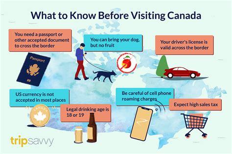 americans     visiting canada