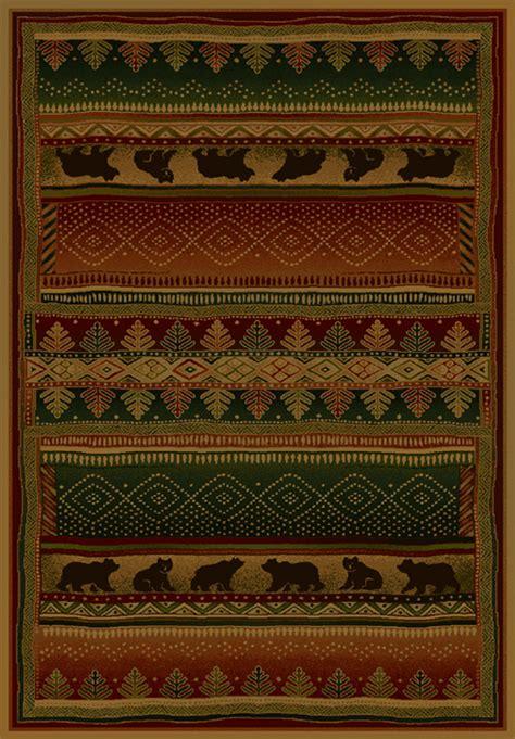 rugs okc bearwalk rug santa fe company okc