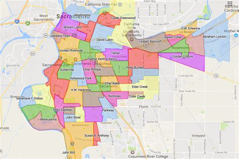 School Finder By Home Address Attendance Areas Sacramento City Unified School District