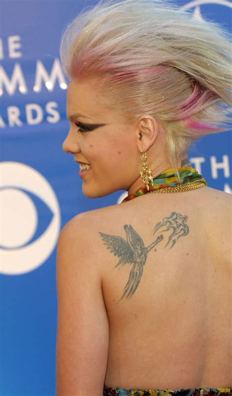 p nk tattoos pink interviewed by 5 year simplemost