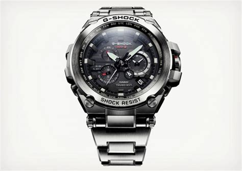 casio metal twisted g shock watches can take a beating