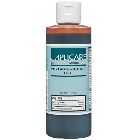 Povidone Iodine by Povidone Iodine Gel 10
