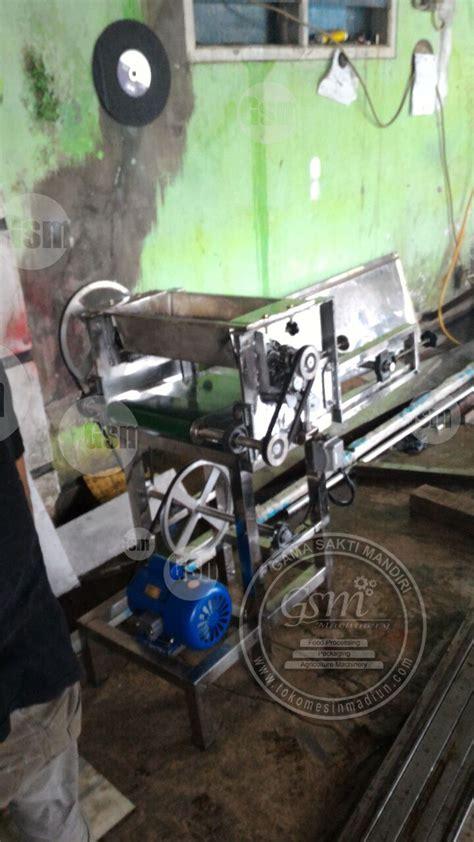 alat roti alat penipis adonan roti toko mesin gama sakti