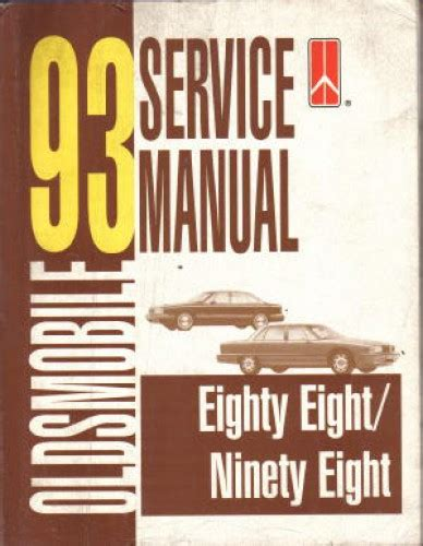 used 1993 eighty eight and ninety eight service manual