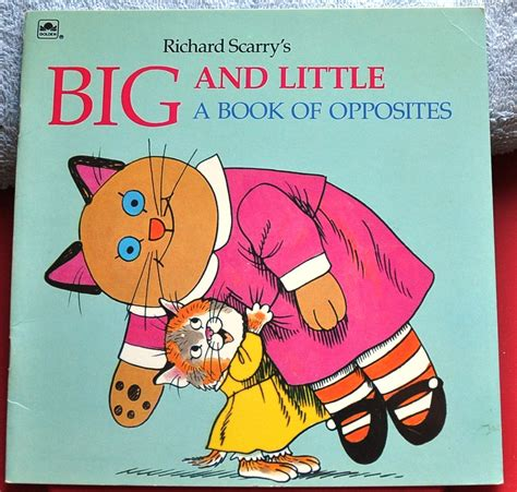 big book of little 1409569713 richard scarry golden book big and little and similar items