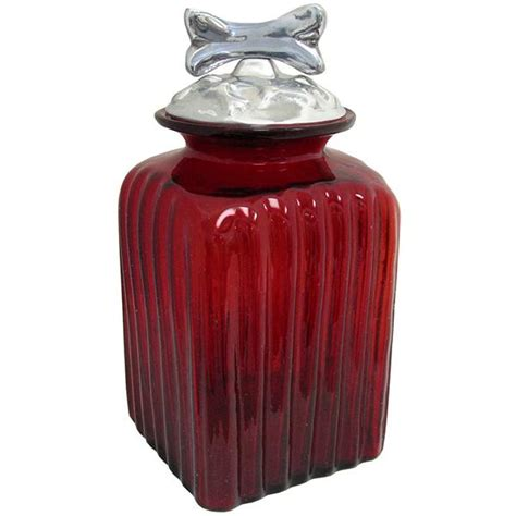 red glass kitchen canisters blown glass canisters collection dog bone kitchen