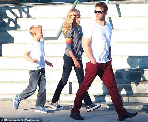 ryan phillippe child ryan phillippe takes children ava and deacon out giving