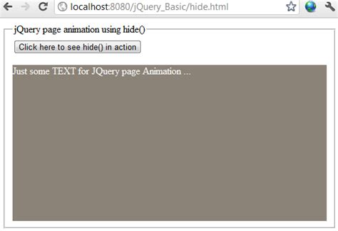 jquery swing effect jquery hide effect with easing and callback exle