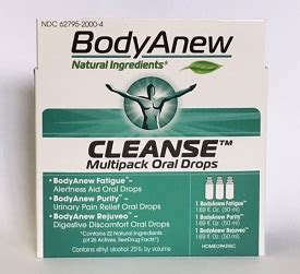 Detox Kit Homeopathic Medication by Anew Cleanse Multipack Drops Homeopathic