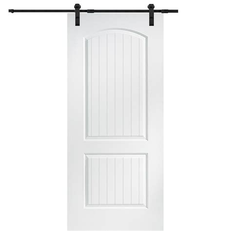 32 X 80 Barn Door by Mmi Door 32 In X 80 In Primed Molded Mdf Cashal Barn
