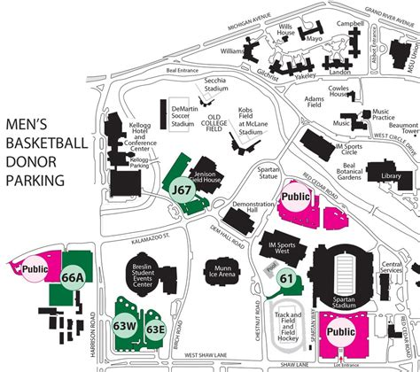 Msu Parking Office michigan state official athletic site spartan