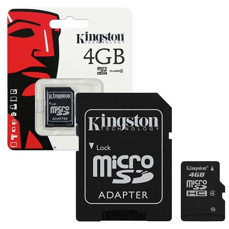 with sd card kingston micro sd sdhc memory cards class 4 7dayshop