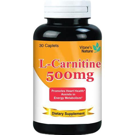 supplement l carnitine l carnitine 500mg