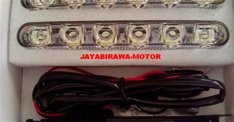 Drl Led Model Fortuner Terang 2 X 6 Titik Lu Led D Limited dunia led hid led drl fortuner