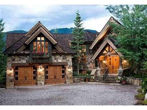 cabin style homes mountain lodge style home plans small craftsman style