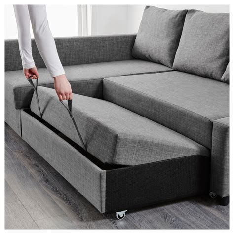 grey sofa bed chair friheten corner sofa bed with storage skiftebo grey