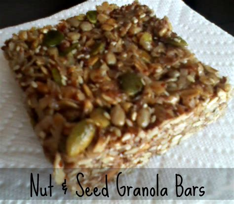 Healthy Seed Bar tasty tuesday nut seed granola bars gettin my healthy on