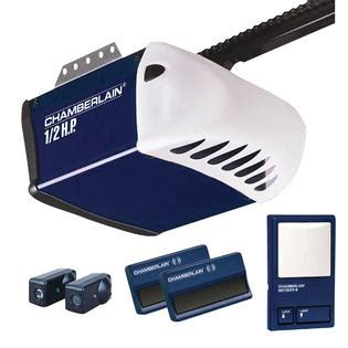 Chamberlain Garage Door Opener Support Chamberlain 1 2 Hp Chain Drive Garage Door Opener System Pd212d