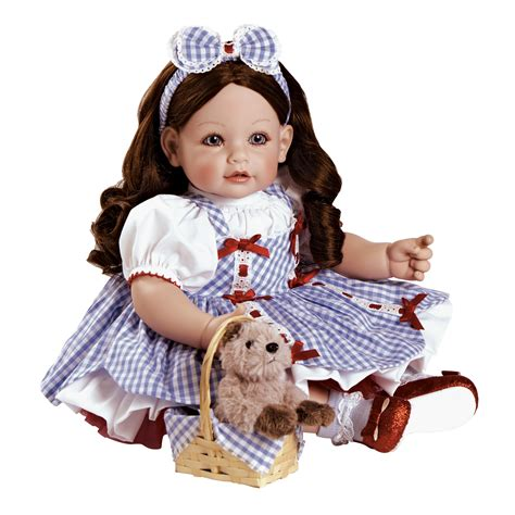 Doll Premium adora dolls adora premium quality play doll 20 quot wizard of oz dorothy brown hair blue