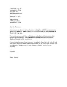 Cease And Desist Letter Template Slander by Cease And Desist Slander Template