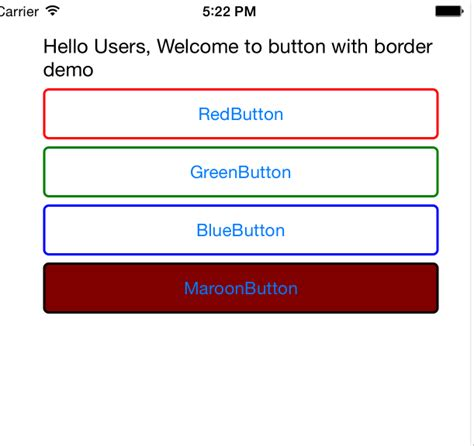 button border radius how to add border radius and color to buttons in xamarin