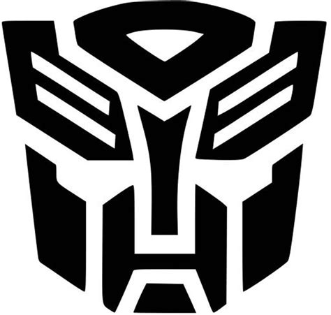 Sticker Transformer Autobot T001 autobot badge transformers vinyl decal sticker car truck mac u color size ebay