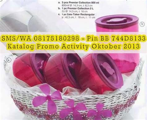Premier Collection 800 Ml tupperware promo premier collection belanja tupperware