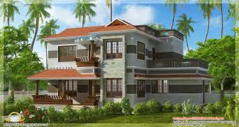 beautiful kerala house plans a beautiful variety kerala style home design 2300 sq ft