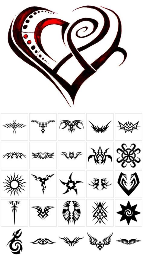 tribal tattoo for strength and love tribal tattoos for on 2015 drawings