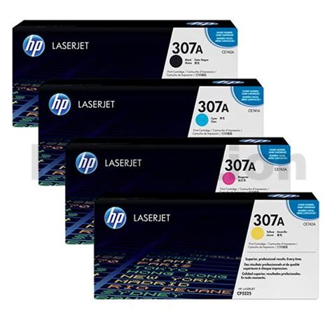 Printer Hp Cp5225 hp laserjet cp5225 series toner value pack 4 colors