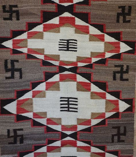 ganado navajo rugs ganado navajo rug with whirling logs 639 s navajo rugs for sale