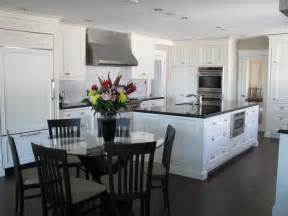 Kitchen Table And Island Combinations 40 inspirational pictures of white amp bright kitchens with