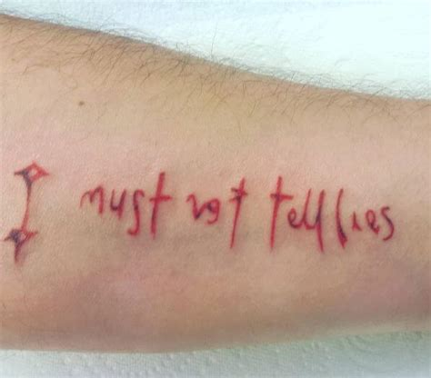 i must not tell lies tattoo 50 unique harry potter tattoos ideas and designs 2018