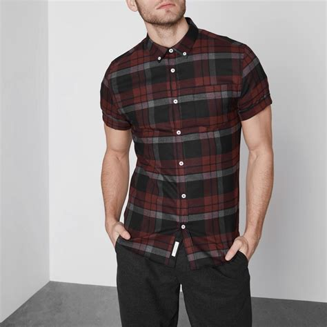 Check Sleeve Fit Shirt check fit sleeve shirt