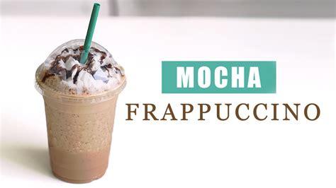 how to make starbucks mocha frappuccino copycat recipe