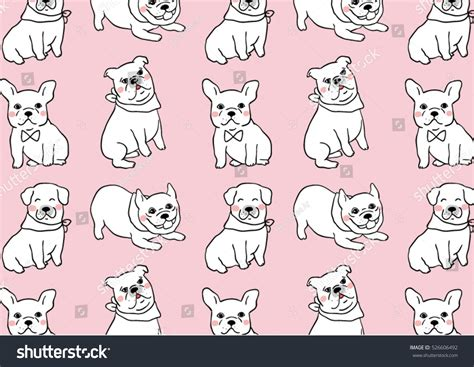 Vector Illustration Draw Pattern Background Stock