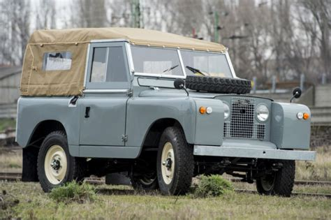 land rover 88 series ii a quot frame quot restored