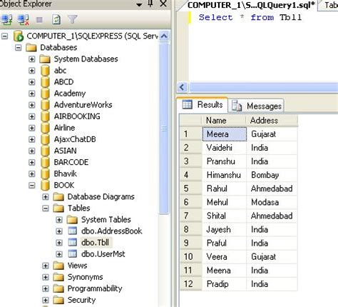 Copy Table by Copy New Table From An Existing Table In Sql Server