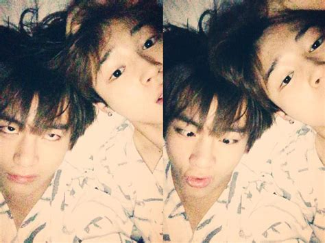 kim taehyung y sus hermanos twitter trans bts twitter 150214